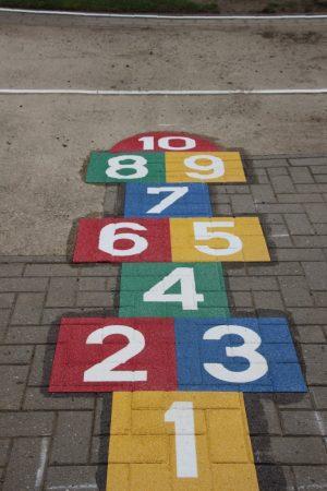 Speelplaats - Speelplein markeringen